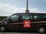 Minivan Paris Eiffel tower